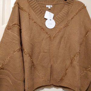 En Creme mocha sweater